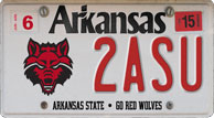 A-State License Plates